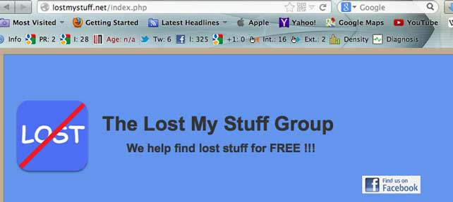 LOSTMYSTUFF.NET Gets Good Press After Returning Lost Ring